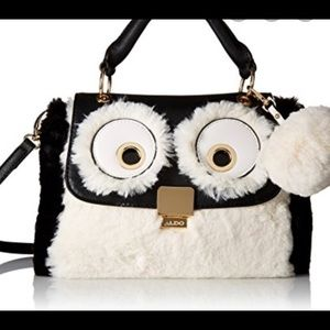 Limited Aldo fur multicolour bag